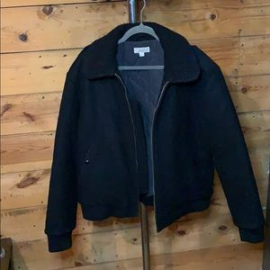 J. Crew Wallace and Barnes wool bomber jacket- XL